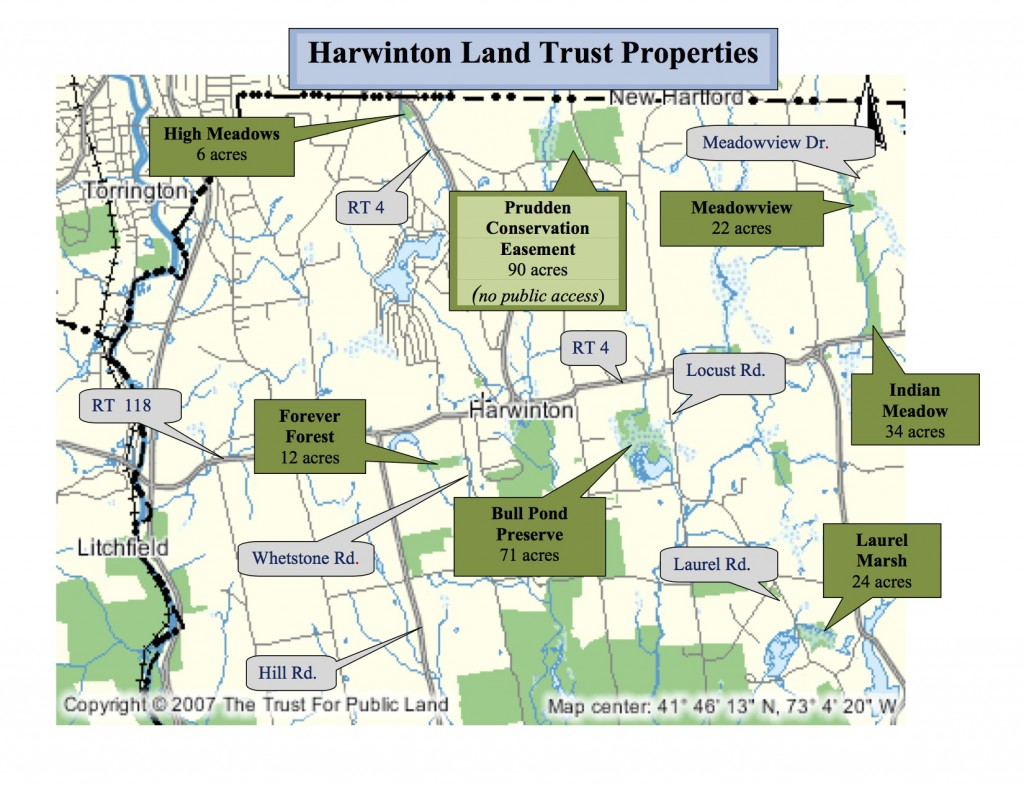 Map of all HLT properties from Greenprint